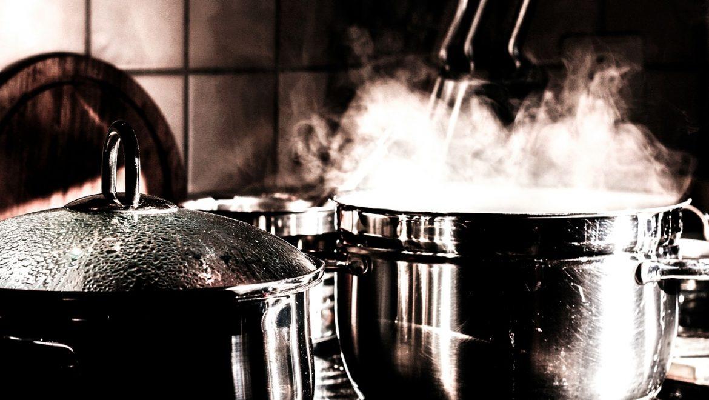 מטבח אפור